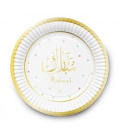 Dessert bordjes Mubarak