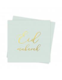 Eid mubarak servetten Bloemen