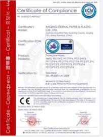 Mondkapjes - 3 Laags - 50 Stuks CE Gecertificeerd - Blauw