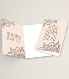 Liefste Henna Bruid