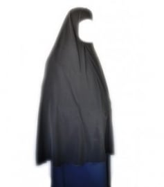 Ghimaar hoofddoek zwart