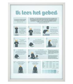 Poster gebed jongen