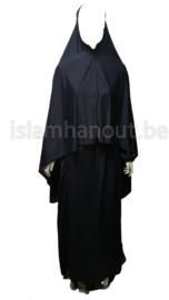 Ghimar zonder mouwen met rok ( gebedskleed )