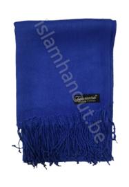 Pashmina sjaal blauw