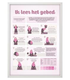 Poster gebed meisje