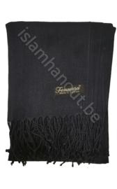 Pashmina sjaal donkerblauw