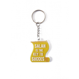 Salah is the key to succes geel sleutelhanger