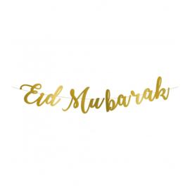 EID MUBARAK LETTERSLINGER (roze haedercard)