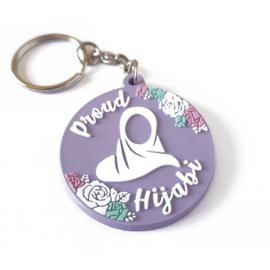 Proud hijabi sleutelhanger