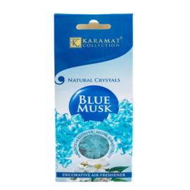 Natuurlijke kristallen Blue Musk