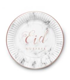 Bord Eid marmer print 6x