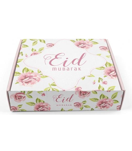 Gebak/geschenkdoos Eid vintage Rose