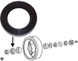 OIL SEAL FOR WHEEL BEARING, FRONT