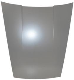 MOTOR/KOFFERKAP, aliminium met staalkooi