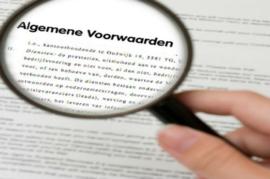allgemeine Geschäftsbedingungen (NL)
