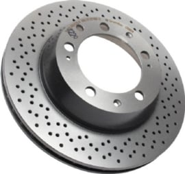 REAR BRAKE DISC, VENTILATED, 299X24 MM