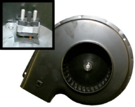 BLOWER MOTOR WITH STEEL HOUSING FOR HEATER