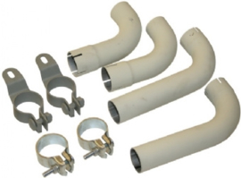 TAIL PIPE KIT WITH CLAMPS (COMPLETE KIT NOT AVAILABLE FROM PORSCHE)