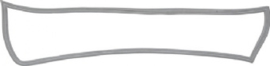 GASKET FOR TAIL LIGHT, RUBBER, GREY, LEFT