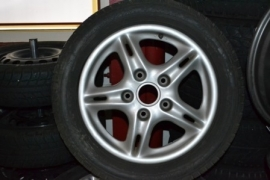 boxster Wheels 16inch met wintertires
