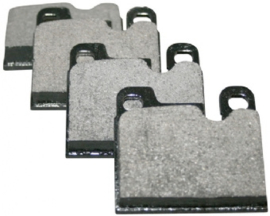 BRAKE PAD SET, FRONT/REAR, 15.0 MM