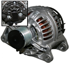 ALTERNATOR, 120 AMP, NEW