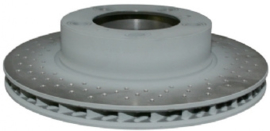 BRAKE DISC, VENTILATED, FRONT, LEFT, 298X24 MM, E-COATED
