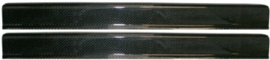 DOOR SILL COVER SET, CARBON
