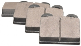 BRAKE PAD SET, 15.0 MM