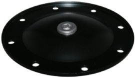 COVER FOR OIL STRAINER, WITH HOLE AND PLUG