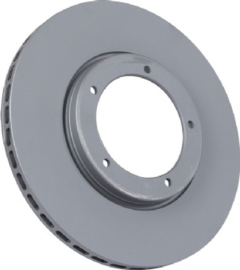 BRAKE DISC, VENTILATED, FRONT, 282X20.5 MM, E-COATED