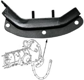 Gummilager, getriebe, hinten, links