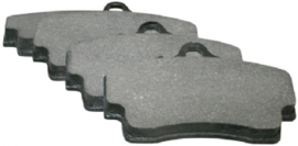 BRAKE PAD SET, REAR, 15.5 MM