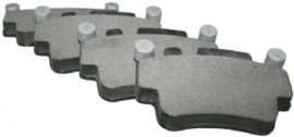 BRAKE PAD SET, FRONT/REAR, 17.0 MM