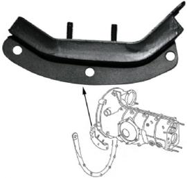 Gummilager, getriebe, hinten, rechts