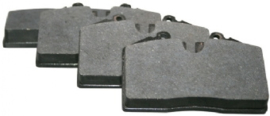BRAKE PAD SET, FRONT/REAR, 17.2 MM