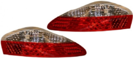 TAIL LIGHT LENS KIT, LED, CLEAR/RED