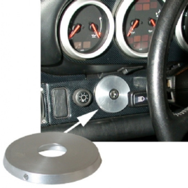 IGNITION SWITCH COVER PLATE, ALU