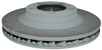 BRAKE DISC, VENTILATED, FRONT, RIGHT, 330X34 MM, E-COATED