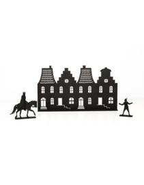 Grachtenpandjes met Sint en Piet