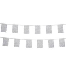 Vlaggenlijn voor buiten   stippenpatroon