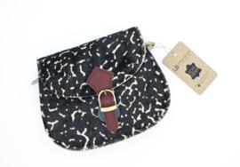 Mini Animal Bag | Donkerbruin/Bordeaux