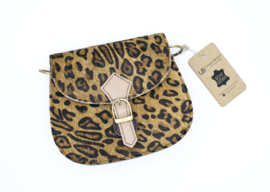 Mini Animal Bag | luipaard donkerbruin