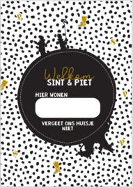 Poster A4 | welkom Sint