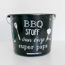 DIY Sticker | BBQ emmer