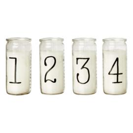 Kaarsen in glas | Advent