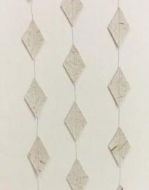 Woonslinger | ruit olifantenpoep papier