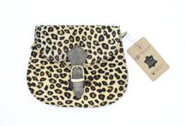 Mini Animal Bag | luipaard lichtbruin
