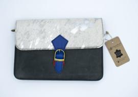 Mosselbag   wit, blauw