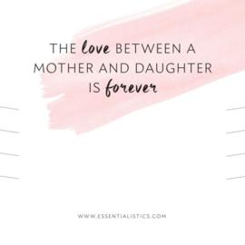 Armbandenkaart | moeder dochter